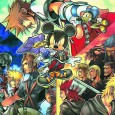Hoy sinplague lucha contra Monsta en Kingdom Hearts: Birth by Sleep Final Mix