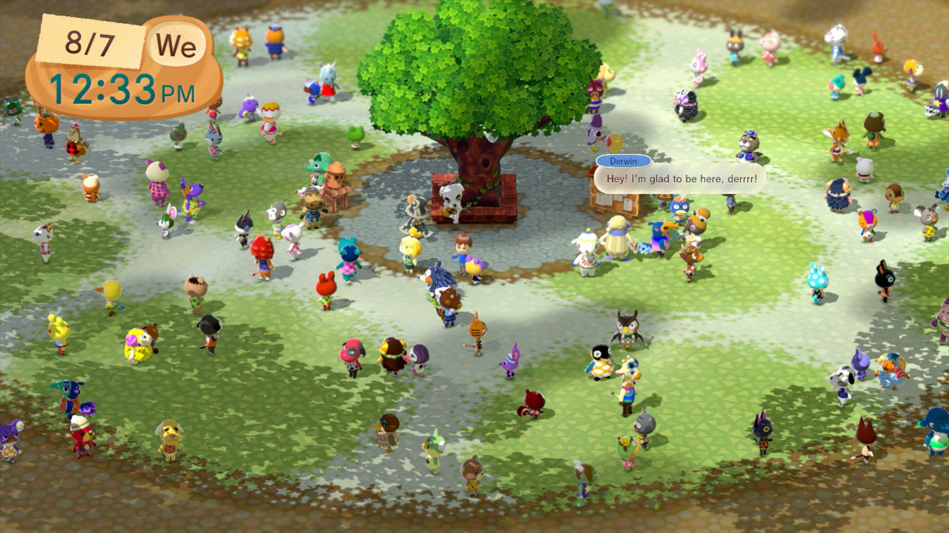 Animal Crossing New Leaf 2 2014 # Muebles Festivos Animal Crossing