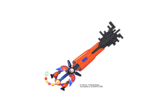 Kingdom Hearts III Keyblade (9)
